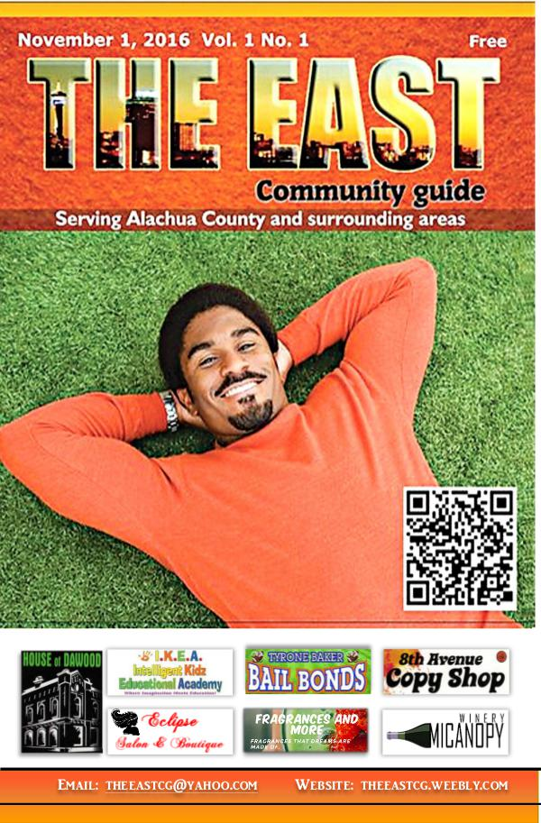 The East Community Guide November Vol1 No1 1