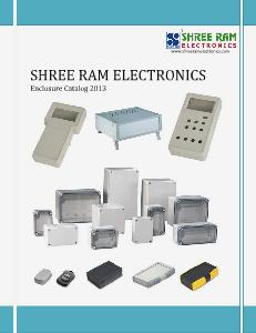 SHREE RAM ELECTRONICS- ENCLOSURE CATALOG 2013 Vol 1