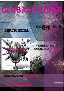 GLOBALIZACION  EN LA ACTUALIDAD