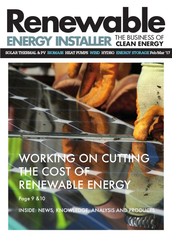 Renewable Energy Installer REI Feb/Mar 17
