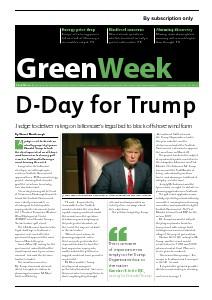 GreenWeek Volume 23, November 15