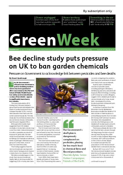 GreenWeek Vol 28, May 10