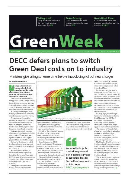 GreenWeek Vol 29, May 16, 2014