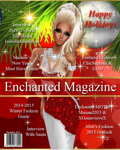 Enchanted Magazine August 2014 Issue 6 December 2014
