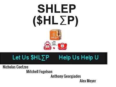 SHLEPxPress Fall 2013