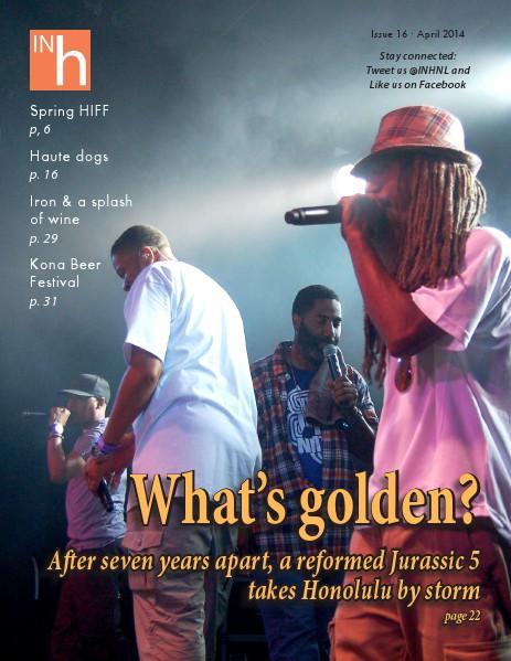 INhonolulu Magazine Issue #16 - April 2014