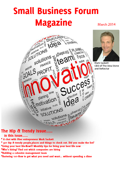 Small Business Forum Magazine Online Small Business Forum March 2014
