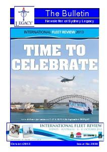 Sydney Legacy Bulletin October 2013