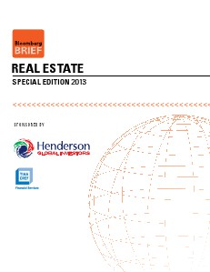 Bloomberg Real Estate Special Focus Vol 1 October 2013