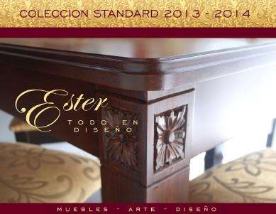 Ester Todo en Diseño - Catálogo Standard 2013 - 2014 Oct. 2013