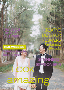 IU WEDDING MAG