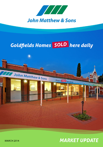 John Matthew & Sons Market Update March 2014