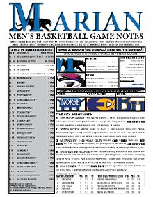 Men's Basketball Game Notes
