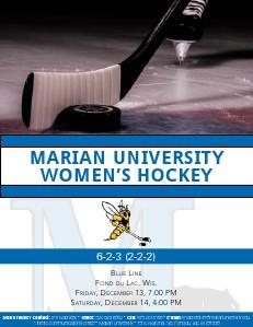 Women's Hockey Game Notes Vol. VI
