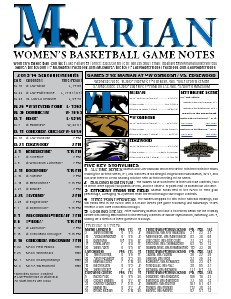 Women's Basketball Game Notes Volume 6