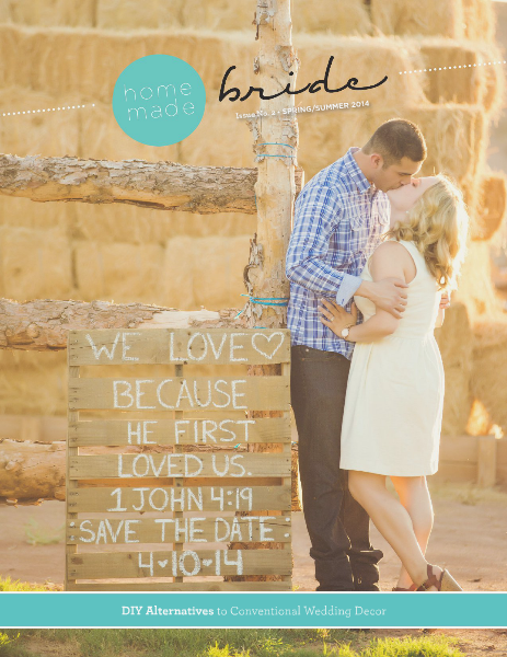 Homemade Bride Magazine Summer 2014