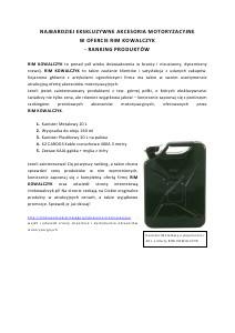 Akcesoria motoryzacyjne 25-10-2013