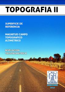 Topografía II volumen 1