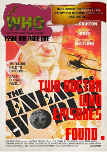 Doctor Who Un-Official Magazine issue one