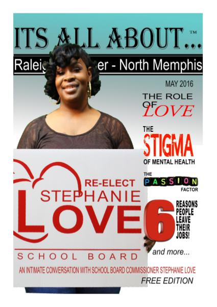 Its All About Raleigh - Frayser - North Memphis May 2016 May 2016