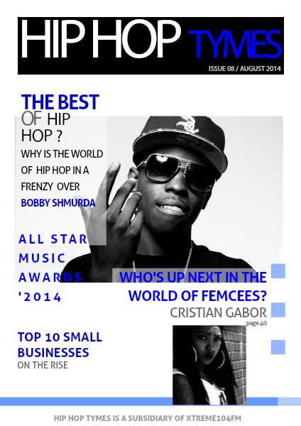 Hip Hop Tymes Volume 8 HIP HOP TYMES VOL 8