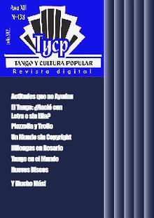 Tango y Cultura Popular N° 138 ()