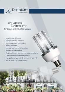 Deltotum Villa 50w LED lamp 1.0