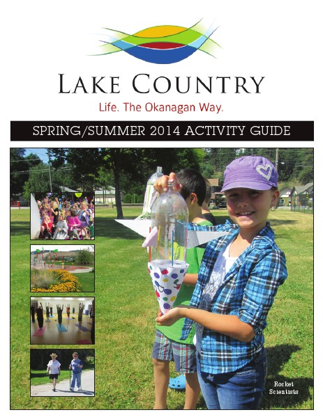 Activity Guides Spring/Summer 2014 Activity Guide
