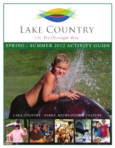 Activity Guides 2012 Lake Country Activity Guide