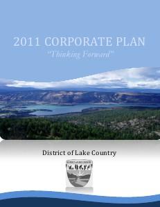 Corporate Plan 2011