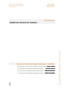 (Yessica-Roberto-Alfredo)  ERGONOMIA concepto y clasificacion YesRoAl  Diseño del espacio de trabajo
