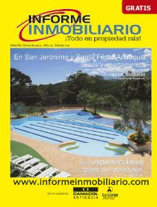 REVISTA INFORME INMOBILIARIO Edición 179, año 14, enero de 2013