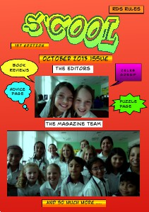S'Cool Magazine Issue 1 | 1 October, 2013 S'Cool Magazine Issue 1 | 1 October, 2013