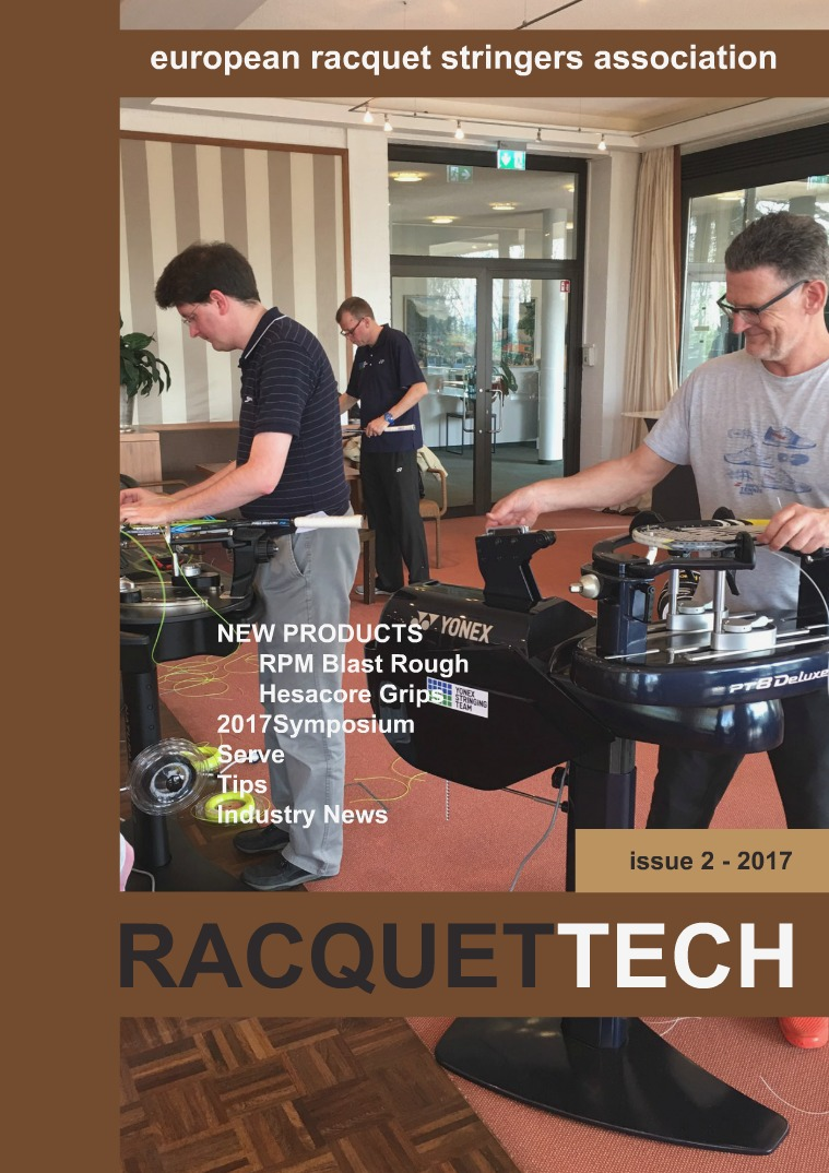 RacquetTech Issue  2 - 2017 April 5, 2017
