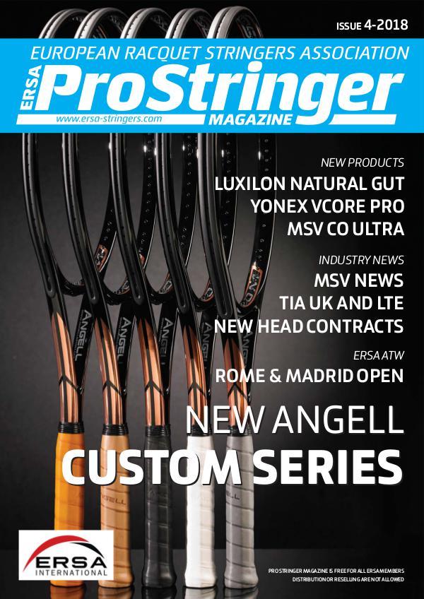 ERSA Pro Stringer Magazine Issue 4 - 2018 prostringer4-18 13.06