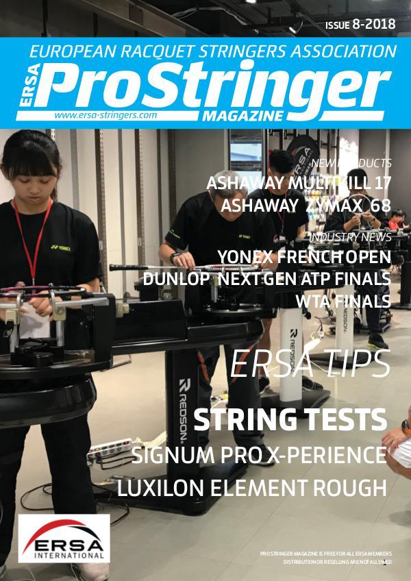 ERSA Pro Stringer Magazine Issue 8-2018 prostringer8-18 web