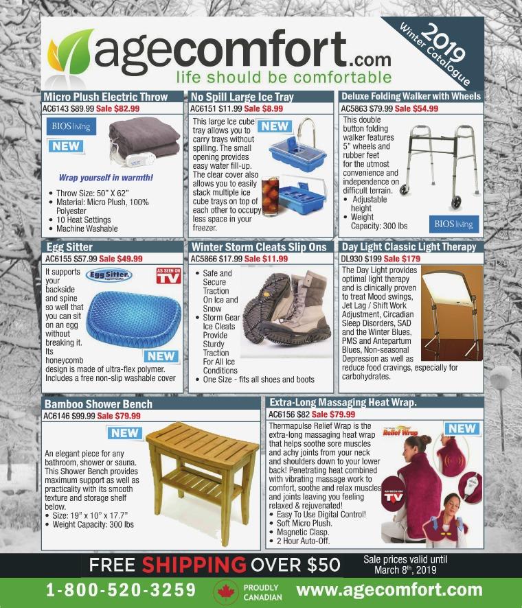 Age Comfort Winter 2019 Catalogue