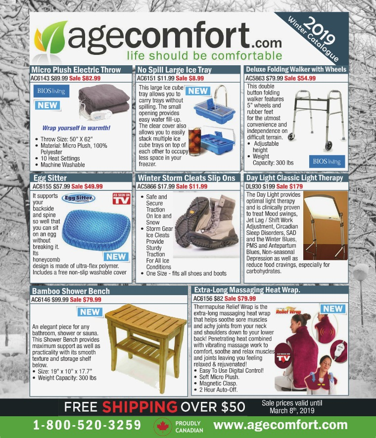 Age Comfort Winter 2019 Catalogue
