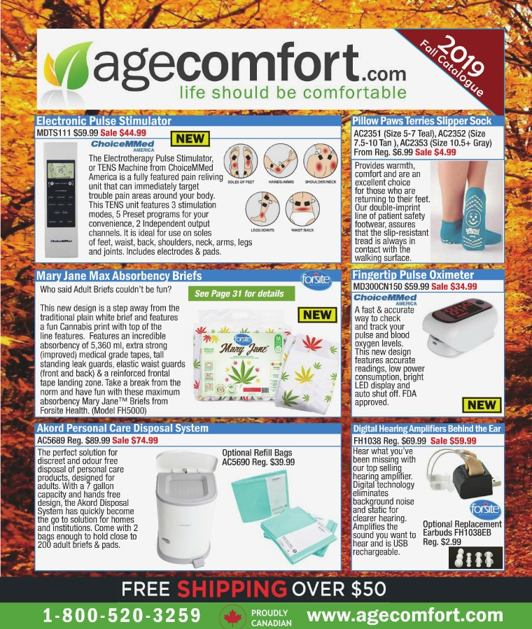 View And Request Free Catalog For Home Health Care