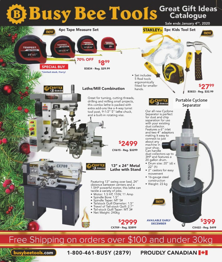 Busy Bee Tools Great Gifts Ideas Catalogue 2019