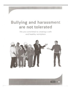 Office Bullying and Harassment Policy Volumn 2013