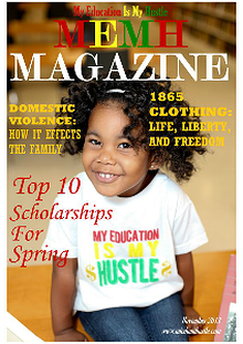 My Education Is My Hustle Magazine
