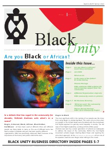 Black Unity Winter Edition