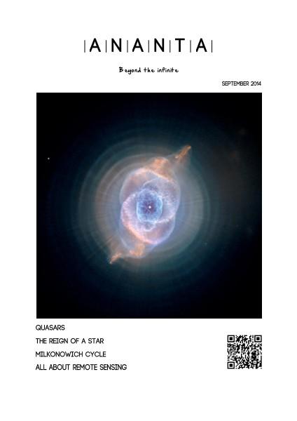 ANANTA Magazine September 2014