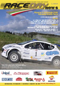 Raceday News 2013 Numero 1  / 2013