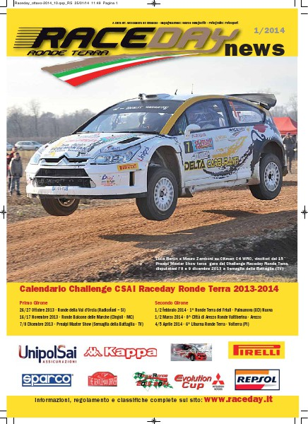 Raceday News 2013 - Numero 4