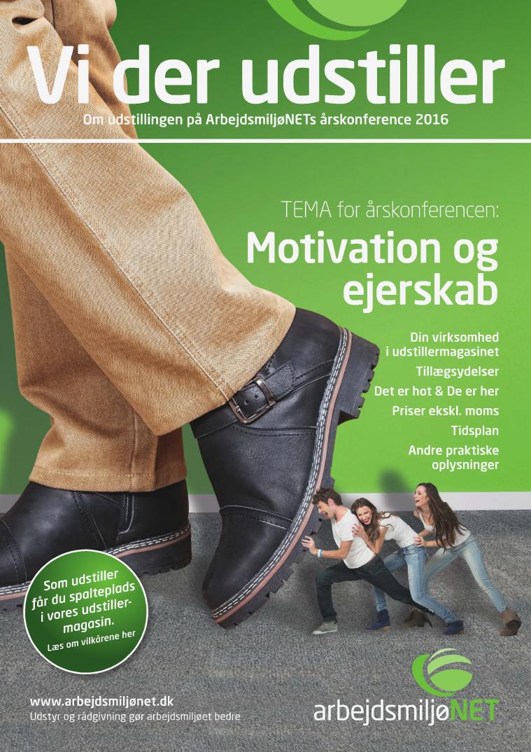 ArbejdsmiljøNETs årskonference 2016