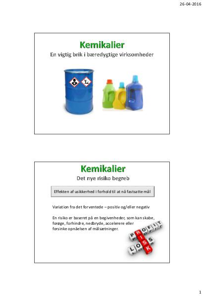 ArbejdsmiljøNETs årskonference 2016 - Kemikalier - Avichem