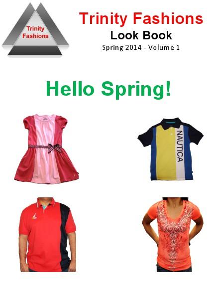 Trinity Fashions Spring Book Spring 2014 - Volume 1