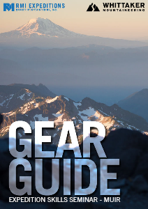 RMI and Whittaker Mountaineering Gear Guides Expedition Skills Seminar - Muir